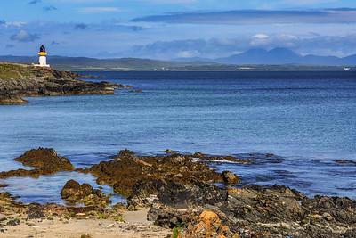 Loch Indaal (Rubh' an Duin) Lighthouse, Islay.