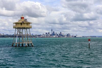 Bean Rock Lighthouse New Zealand.