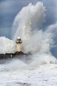 South Gare Lighthouse.