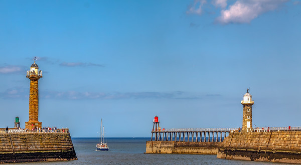 Whitby Lighthouses.