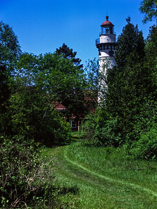 The Path to Seul Choix Point Lighthouse