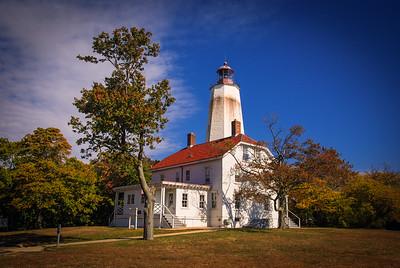 Sandy Hook Lighthouse - Sandy Hook, New Jersey