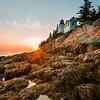 Sunset at Bass Harbor Head Light