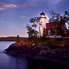 Eagle Harbor Lighthouse at Sunset