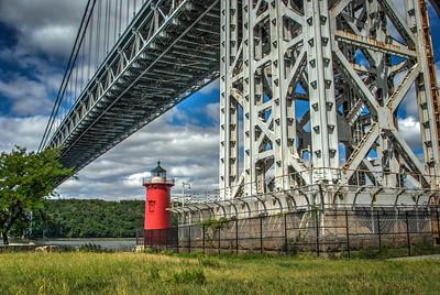 "Jeffery's Hook ""Little Red"" Lighthouse - Manhattan, New York"