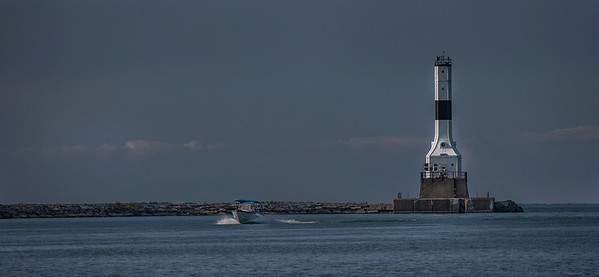 Boating Past the Light