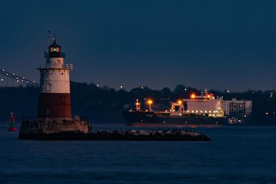 Robbins Reef Lighthouse - Bayonne, New Jersey