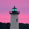 Portsmouth Harbor Lighthouse in New Castle New Hampshire at Sunrise