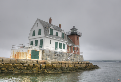 Rockland Point Light, ME