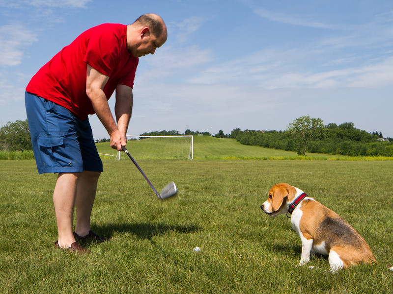 Golfer Brody