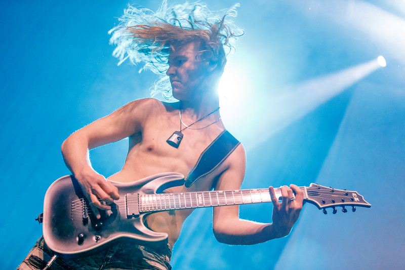 Alien Weaponry live in concert at the Skyway Theater - November 27, 2018