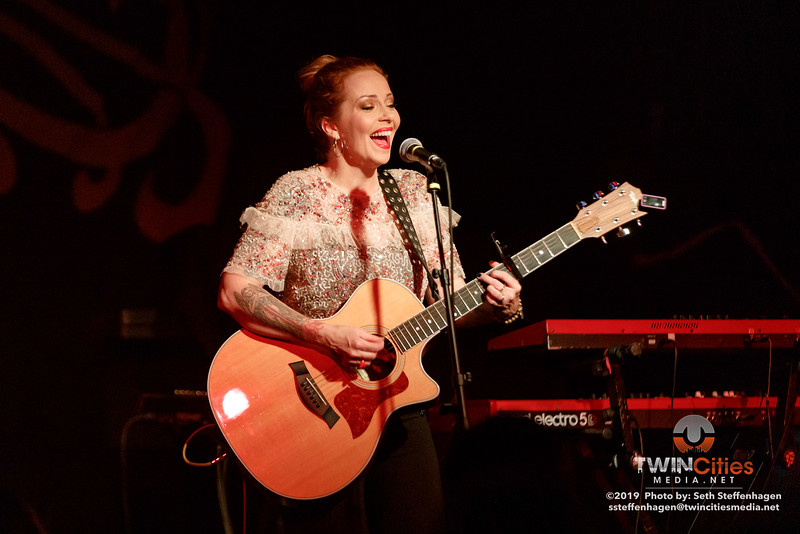 Anneke Van Giersbergen live in concert at The Cabooze - September 30, 2019