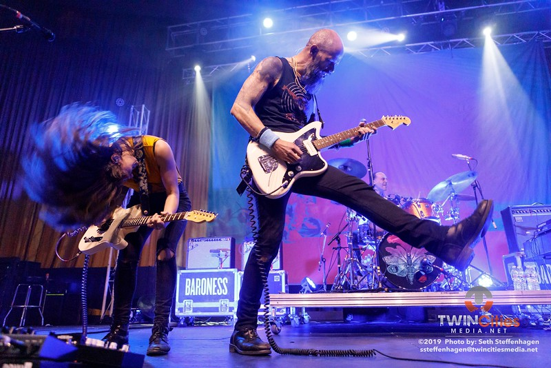Baroness live in concert at the Skyway Theatre - March 29, 2019