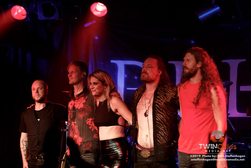 Delain live in concert at The Cabooze - September 30, 2019