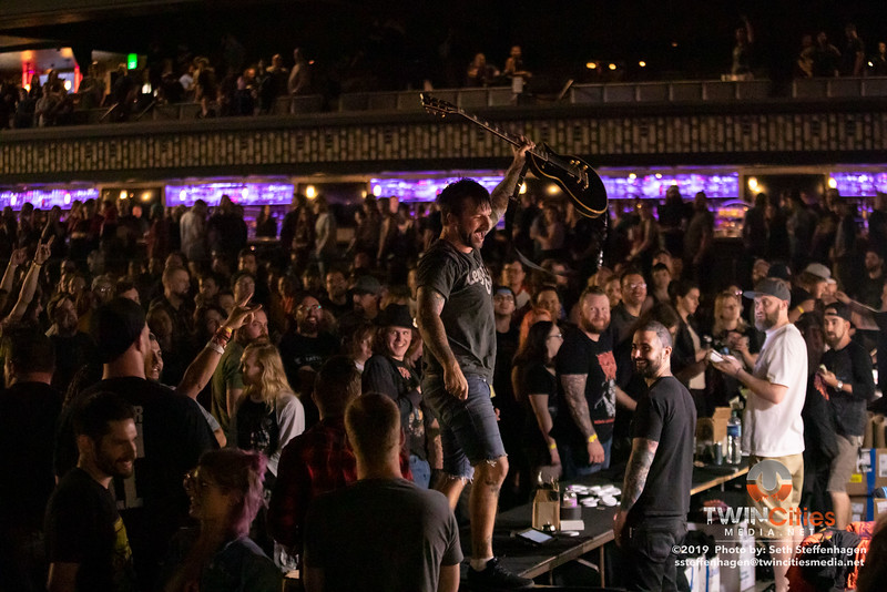 Every Time I Die live in concert at The Armory - June 15, 2019