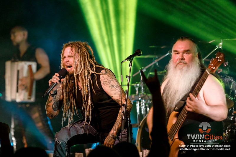Korpiklaani live in concert at The Cabooze - October 5, 2019
