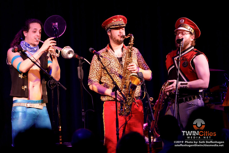 MarchFourth live in concert at the Cedar Cultural Center - March 15, 2019