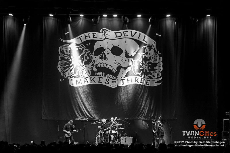 The Devil Makes Three live in concert at the The Armory - September 8, 2019