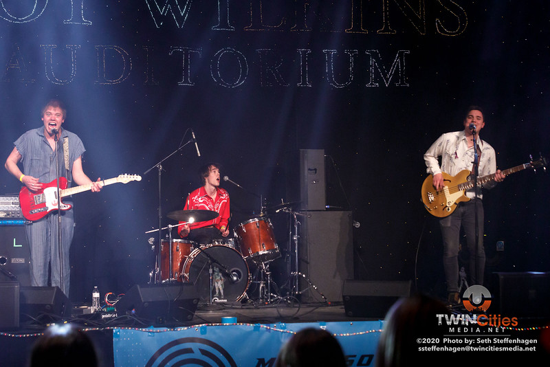 Minnesota Roller Derby 2020:  The Shackletons perform at half-time at the Roy Wilkins Auditorium - February 15, 2020