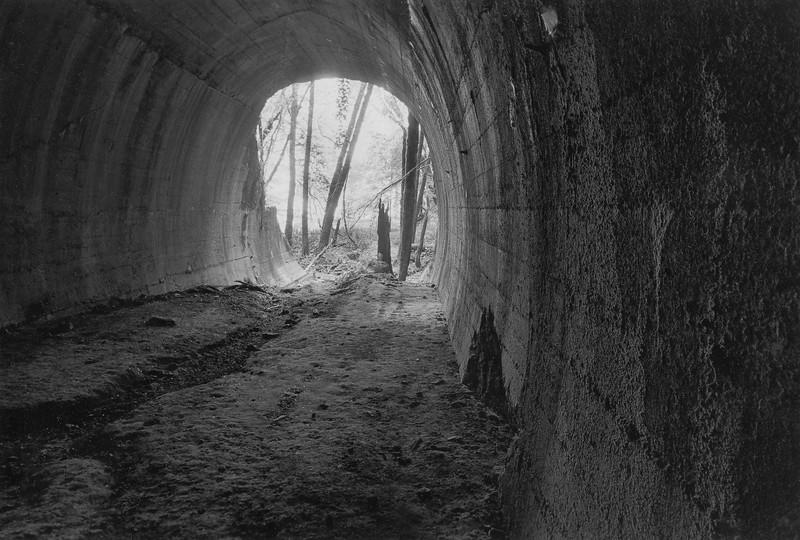 Abandoned Railroad Tunnel in the Santa Cruz Mountains