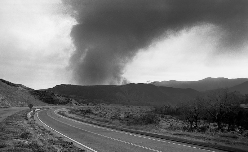 Old Route 66 in San Bernardino County