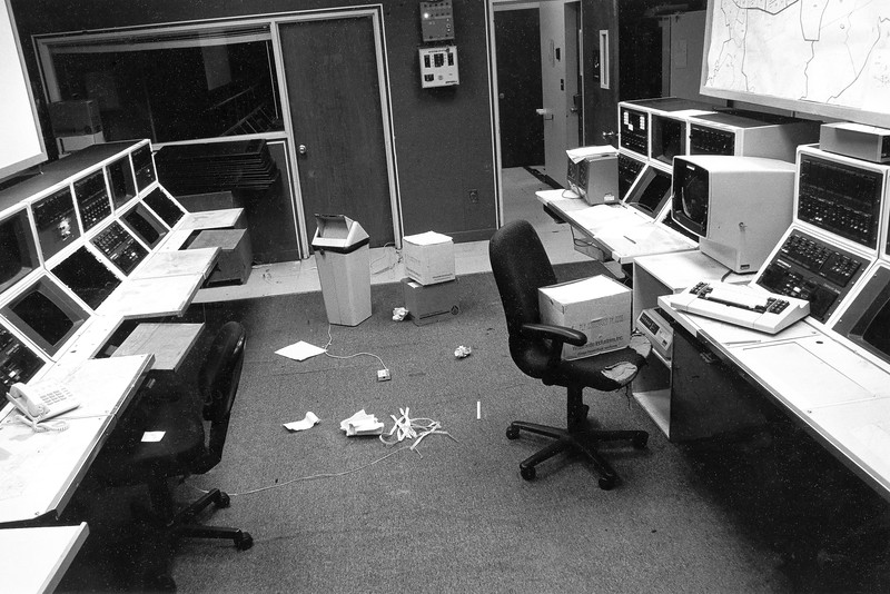 Abandoned 911 Call Center in Fremont