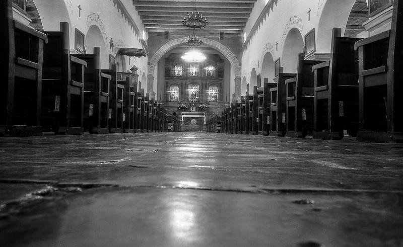 "Church From Alfred Hitchcock's ""Vertigo"" in San Juan Bautista"