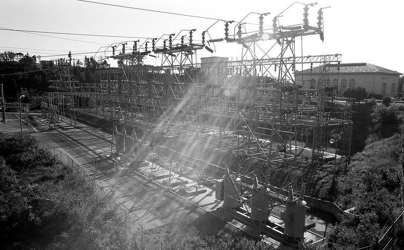 PGE Substation in Oakland
