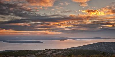Sunrise from Cadillac Mountain