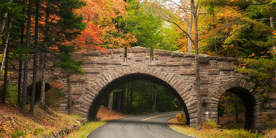 Stanley Brook Bridge, Acadia National Park