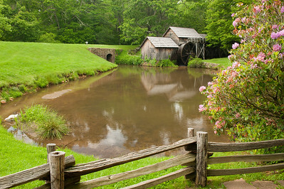 Mabry Mill, Blue Ridge Parkway, VA (MP 176)