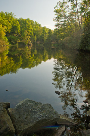 Sims Pond, Blue Ridge Parkway, NC (MP 295.3)