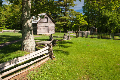 Puckett Cabin, Blue Ridge Parkway, VA (MP 189.9)