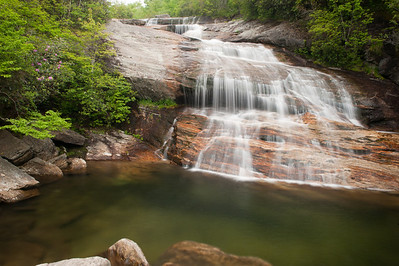 Second Falls, Graveyard Fields, Blue Ridge Parkway, NC (MP 418.8)
