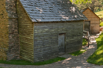 Brinegar Cabin, Blue Ridge Parkway, NC (MP 238.5)