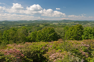 View from Mahogany Rock Overlook, Blue Ridge Parkway, NC (MP 235.0)