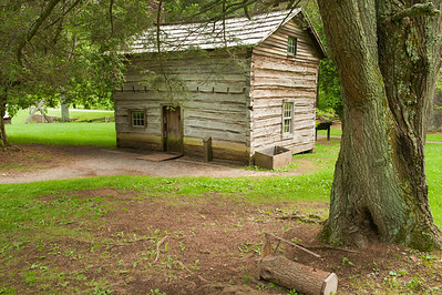 Cabin at Mabry Mill, Blue Ridge Parkway, VA (MP 176)