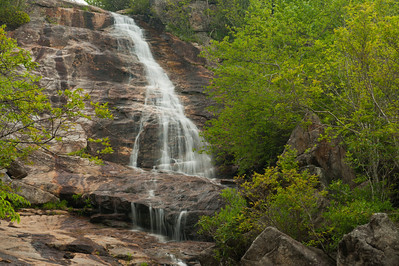 Upper Falls, Graveyard Fields, Blue Ridge Parkway, NC (MP 418.8)