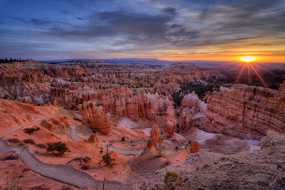Sunrise from Sunset Point, Bryce Canyon National Park