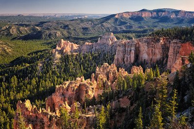 View from Farview Point, Bryce Canyon National Park