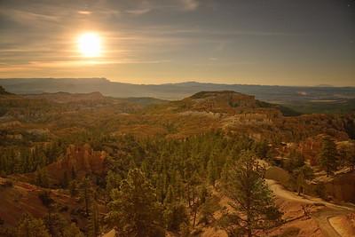 Moonrise, Bryce Canyon National Park