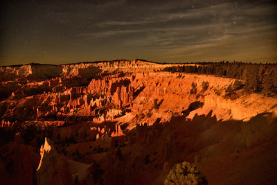 Bryce Canyon by Moonlight, Bryce Canyon National Park