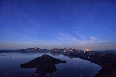 Crater Lake Twilight