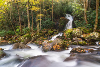Mouse Creek Falls, Great Smoky Mountains National Park
