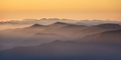 Smoky Sunrise, Great Smoky Mountains National Park