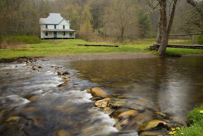 The Caldwell House in Cataloochee, Great Smoky Mountains National Park