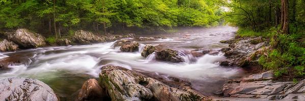 Little Pigeon River, Greenbrier