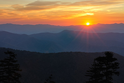 Sunrise, Great Smoky Mountains National Park