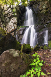 Baskins Creek Falls