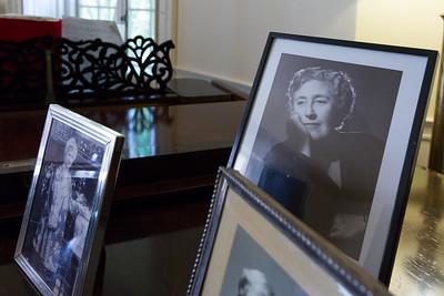Agatha Christie's drawing room at Greenway.